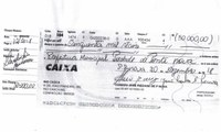 Dezembro 2018 - R$ 50.000,00 repassados para Prefeitura